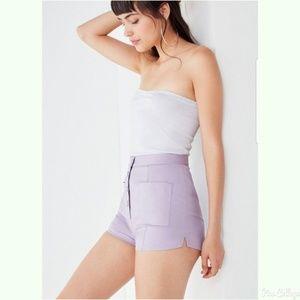 Urban Outfitters Lisa Marie High Waist snap shorts